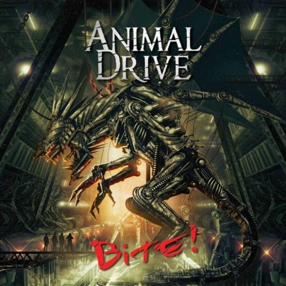 Hard rock: album review – Animal Drive 'Bite!' | Darren's