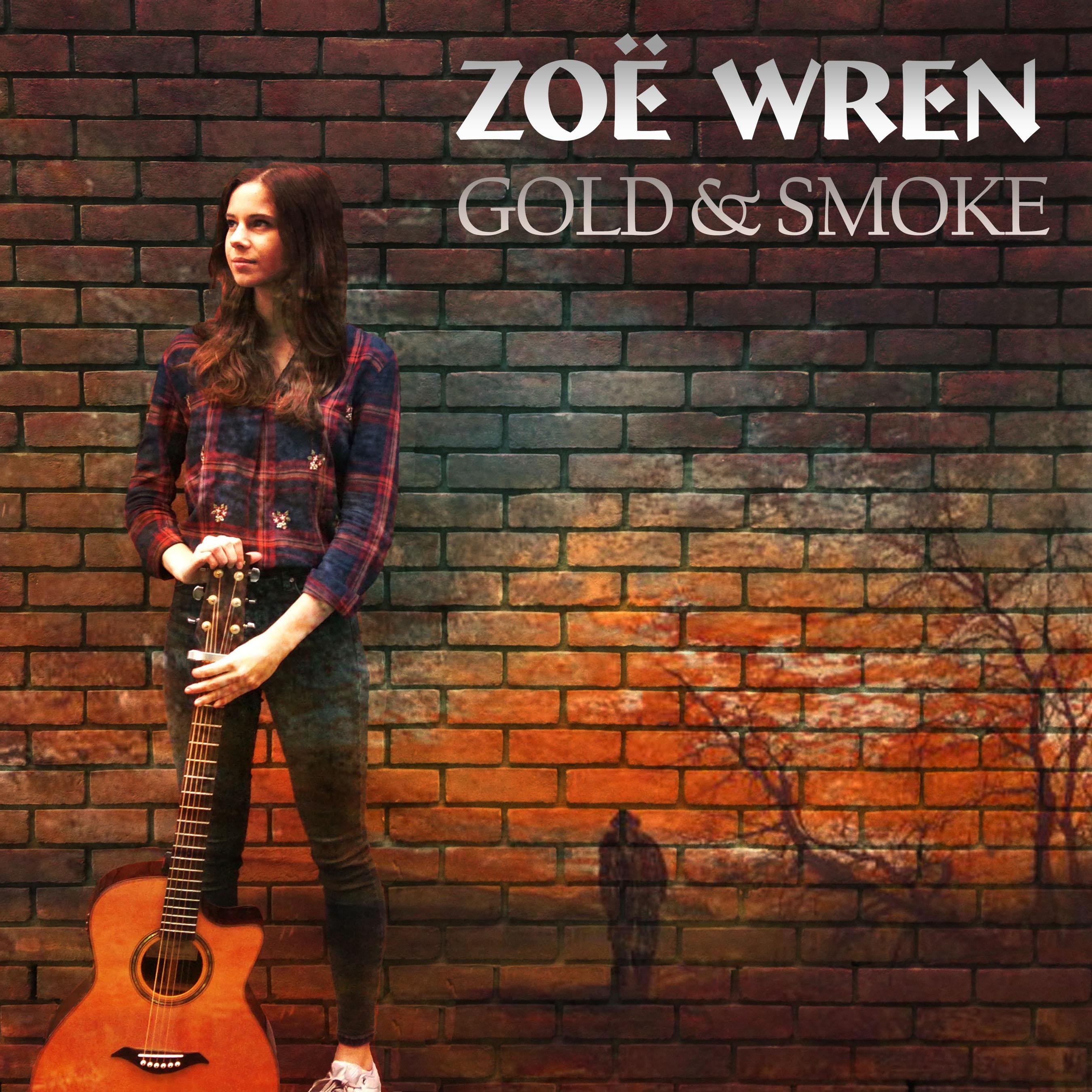 Zoe Wren - Gold and Smoke CD on body (2)