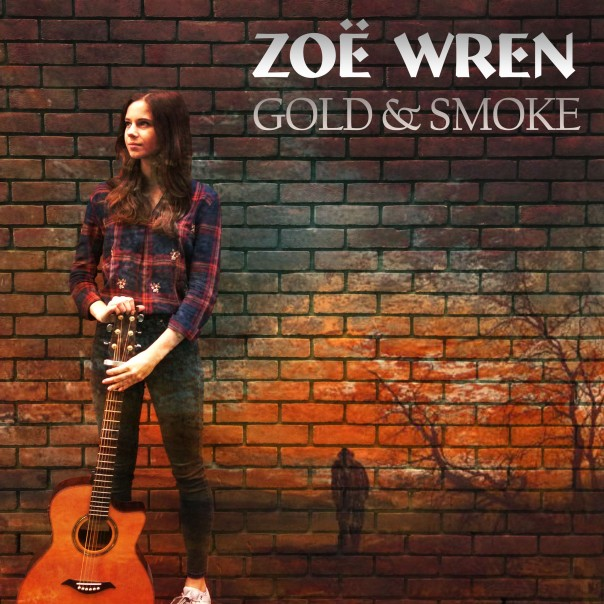 Zoe Wren - Gold and Smoke CD on body (2)